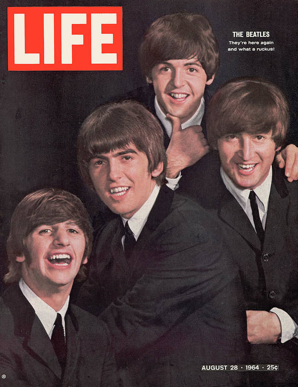 Magazine Cover Art Print featuring the photograph Life Magazine Cover August 28, 1964 by John Dominis