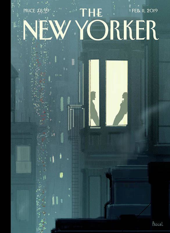 Love Interest Art Print featuring the painting Love Interest by Pascal Campion