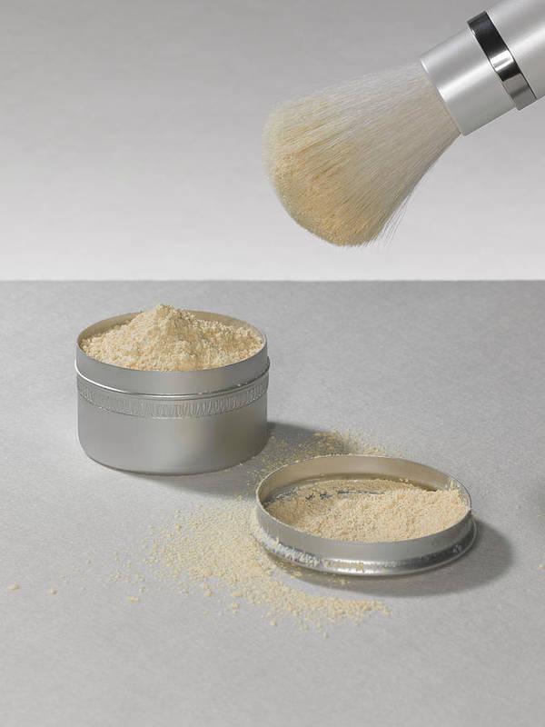 Heap Art Print featuring the photograph Make Up Powder by Adrian Burke