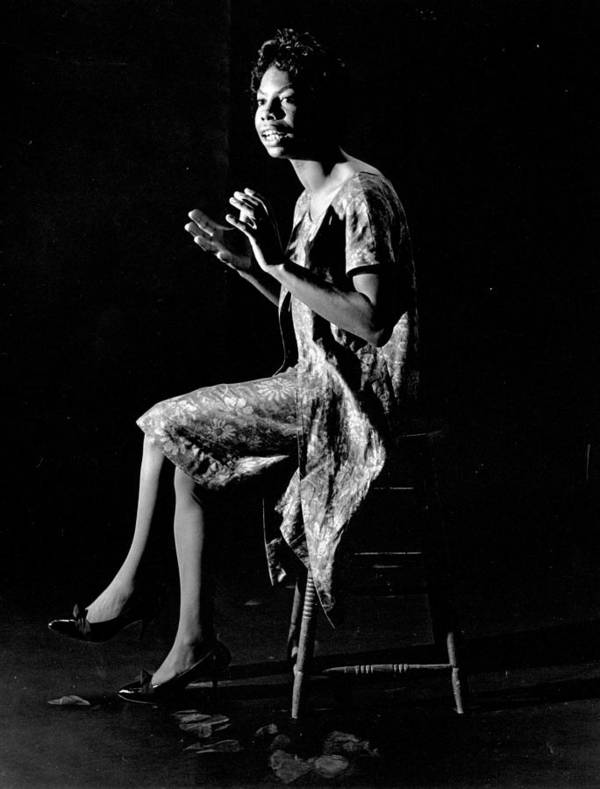 Singer Art Print featuring the photograph Nina Simone by Herb Snitzer