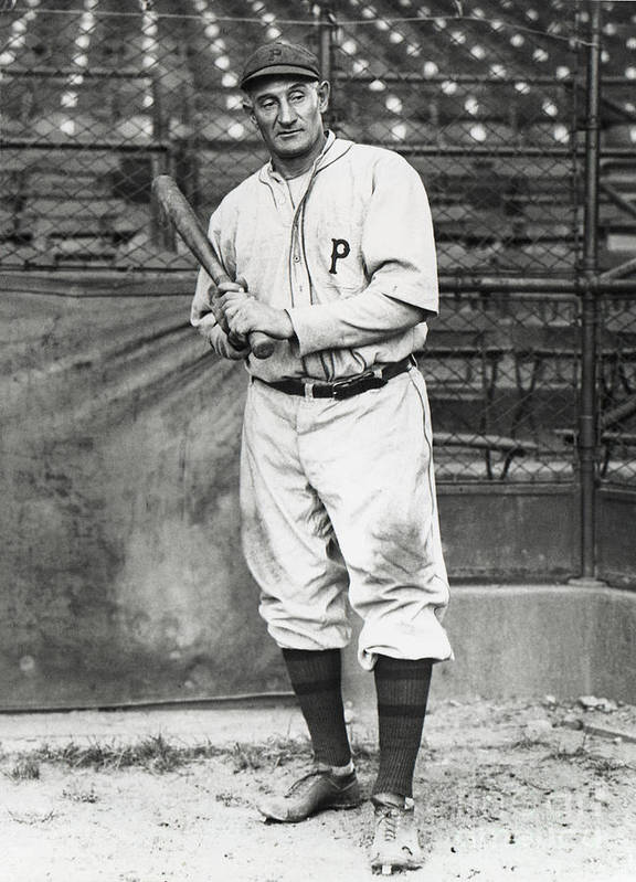 Season Art Print featuring the photograph Honus Wagner by National Baseball Hall Of Fame Library