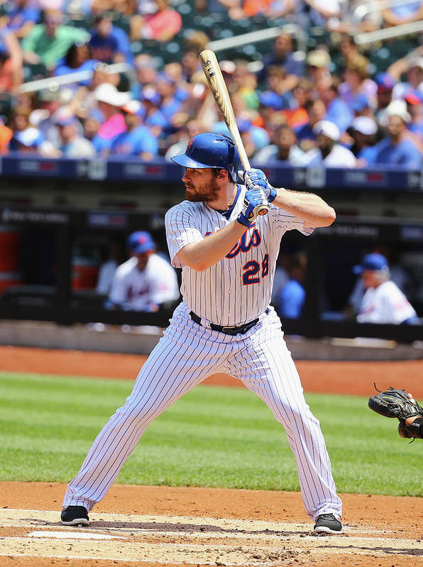People Art Print featuring the photograph Lucas Duda by Al Bello