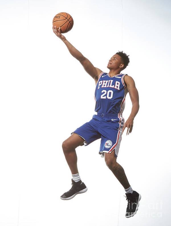 Nba Pro Basketball Art Print featuring the photograph Markelle Fultz by Nathaniel S. Butler