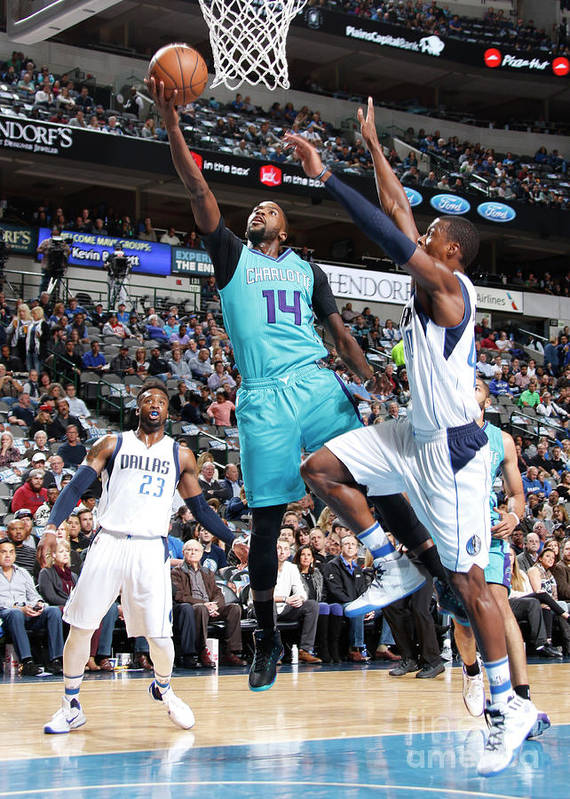Nba Pro Basketball Art Print featuring the photograph Michael Kidd-gilchrist by Danny Bollinger