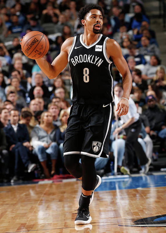 Nba Pro Basketball Art Print featuring the photograph Spencer Dinwiddie by Glenn James