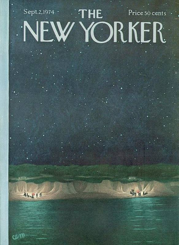 The New Yorker Magazine Cover Art Print featuring the digital art The New Yorker Magazine Cover by Brahaman Dhumsi
