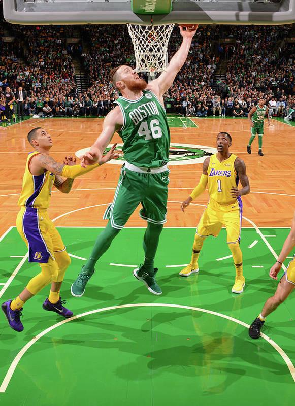 Nba Pro Basketball Art Print featuring the photograph Aron Baynes by Jesse D. Garrabrant