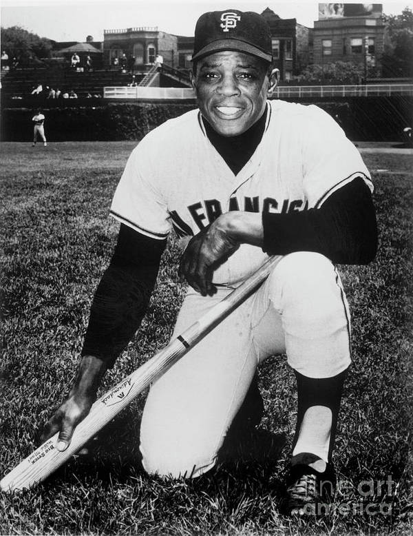 People Art Print featuring the photograph Willie Mays by National Baseball Hall Of Fame Library