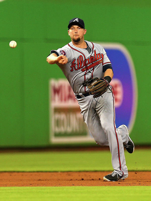 American League Baseball Art Print featuring the photograph Andrelton Simmons by Mike Ehrmann