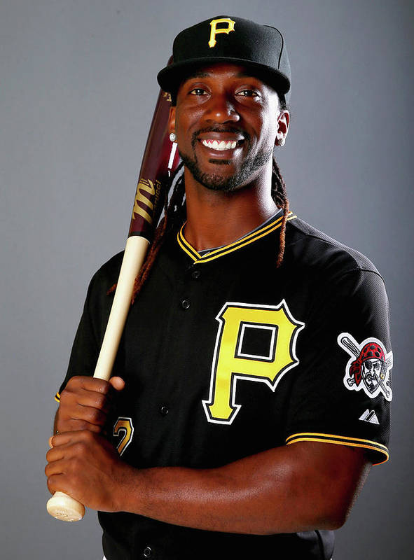 Media Day Art Print featuring the photograph Andrew Mccutchen by Elsa