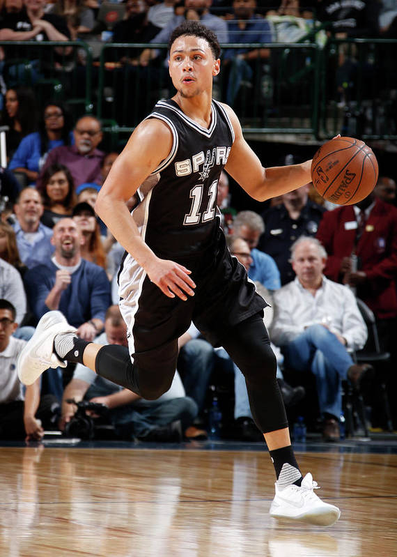 Nba Pro Basketball Art Print featuring the photograph Bryn Forbes by Glenn James
