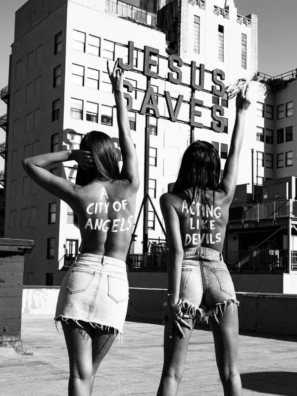 Art Print featuring the photograph City of Angels by Brendan North