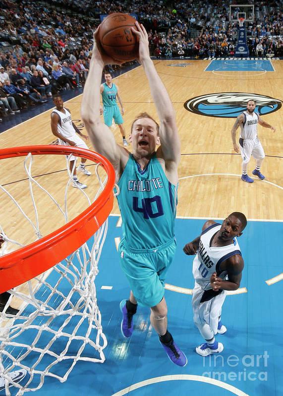 Nba Pro Basketball Art Print featuring the photograph Cody Zeller by Glenn James