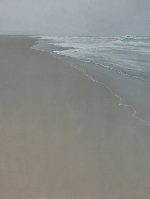 Art Print featuring the painting Drift by Mary Jo Van Dell