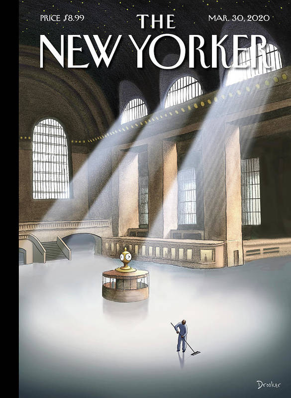 Grand Central Terminal Art Print featuring the painting Grand Central Terminal by Eric Drooker