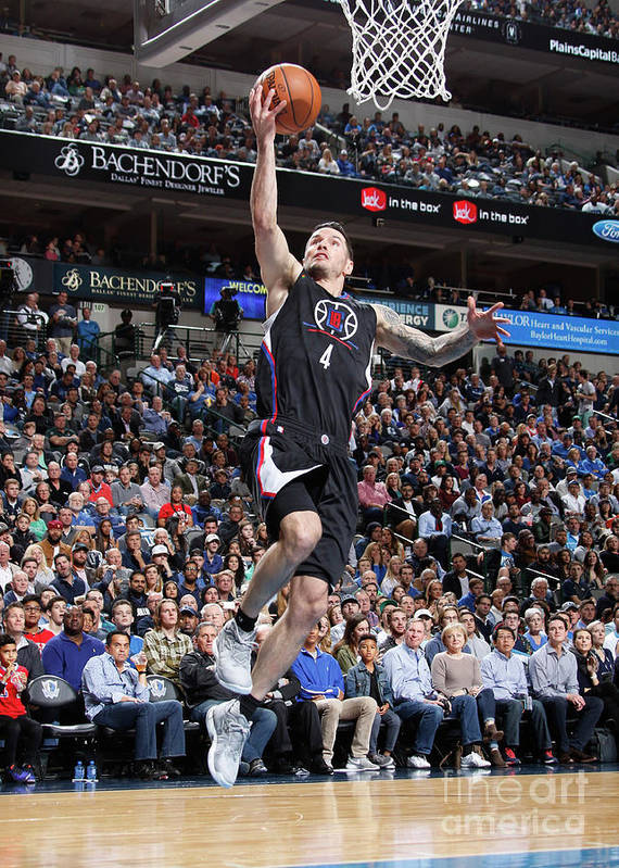 Nba Pro Basketball Art Print featuring the photograph J.j. Redick by Danny Bollinger