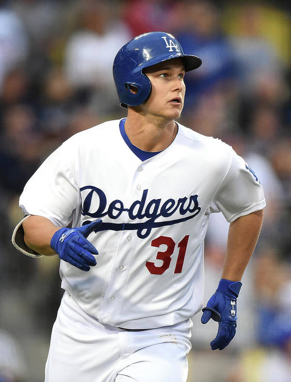 Three Quarter Length Art Print featuring the photograph Joc Pederson by Harry How
