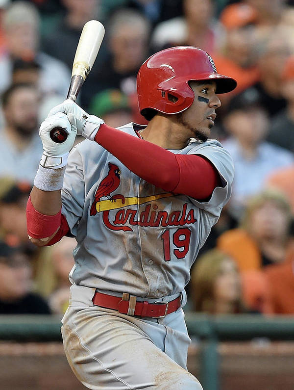 St. Louis Cardinals Art Print featuring the photograph Jon Jay by Thearon W. Henderson