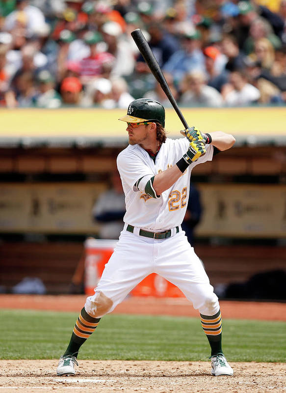 People Art Print featuring the photograph Josh Reddick by Ezra Shaw