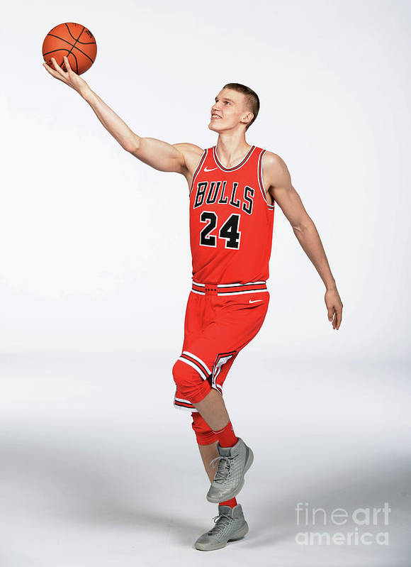 Media Day Art Print featuring the photograph Lauri Markkanen by Randy Belice