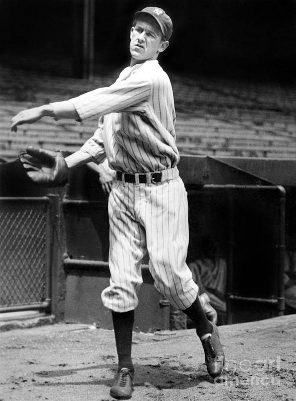 1930-1939 Art Print featuring the photograph Lefty York by National Baseball Hall Of Fame Library