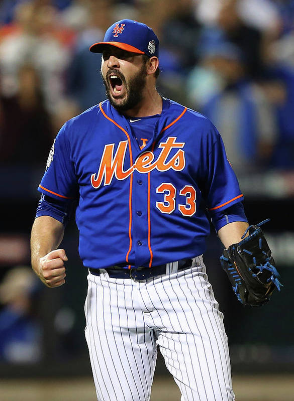 Matt Harvey Art Print featuring the photograph Matt Harvey by Elsa