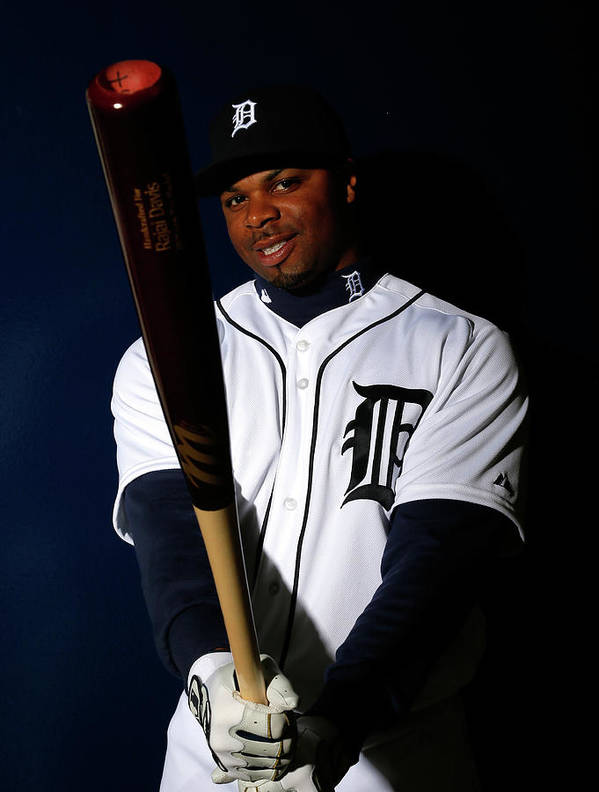 Media Day Art Print featuring the photograph Rajai Davis by Kevin C. Cox
