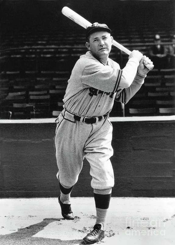 1910-1919 Art Print featuring the photograph Rogers Hornsby by National Baseball Hall Of Fame Library