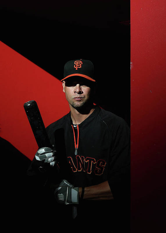 Ryan Vogelsong Art Print featuring the photograph Ryan Vogelsong by Christian Petersen