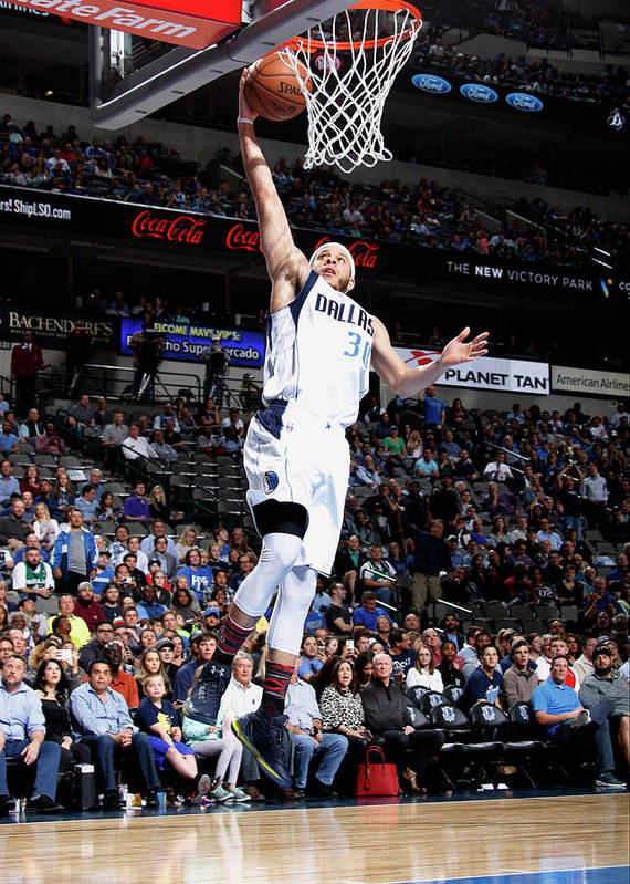 Nba Pro Basketball Art Print featuring the photograph Seth Curry by Danny Bollinger