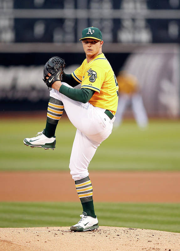 People Art Print featuring the photograph Sonny Gray by Ezra Shaw