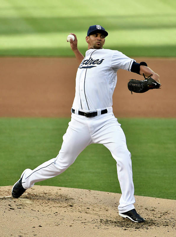 Second Inning Art Print featuring the photograph Tyson Ross by Denis Poroy