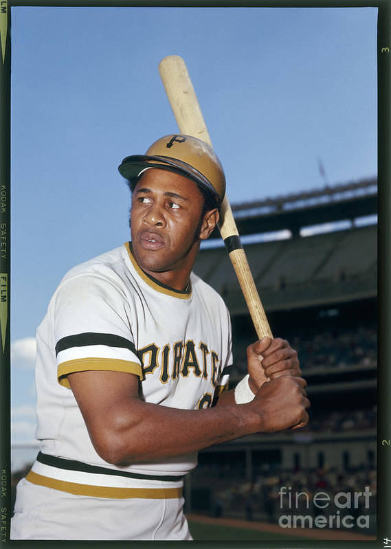 Sports Bat Art Print featuring the photograph Willie Stargell by Louis Requena