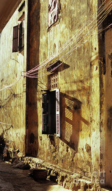 Cambodia Art Print featuring the photograph Kampot Lane by Rick Piper Photography