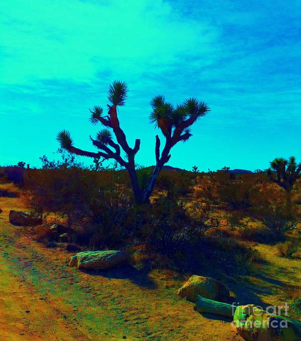 Joshua Tree Art Print featuring the photograph Desert Life by Tara Yarte