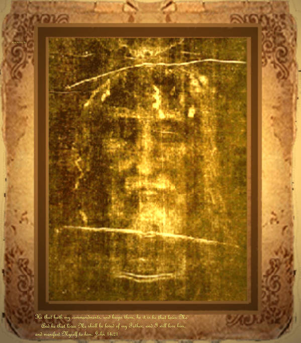 Messiah Art Print featuring the digital art Messiah Manifested by Anastasia Savage Ealy