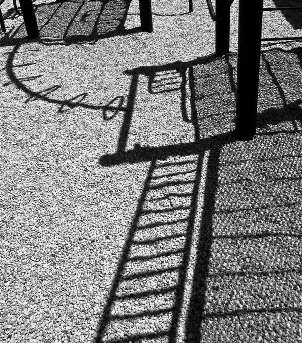 Playground Art Print featuring the photograph Playless by Ron Plasencia