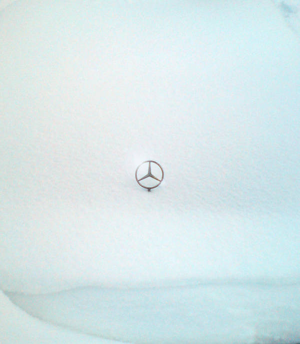 Snow Art Print featuring the photograph Snow Star by Are Lund