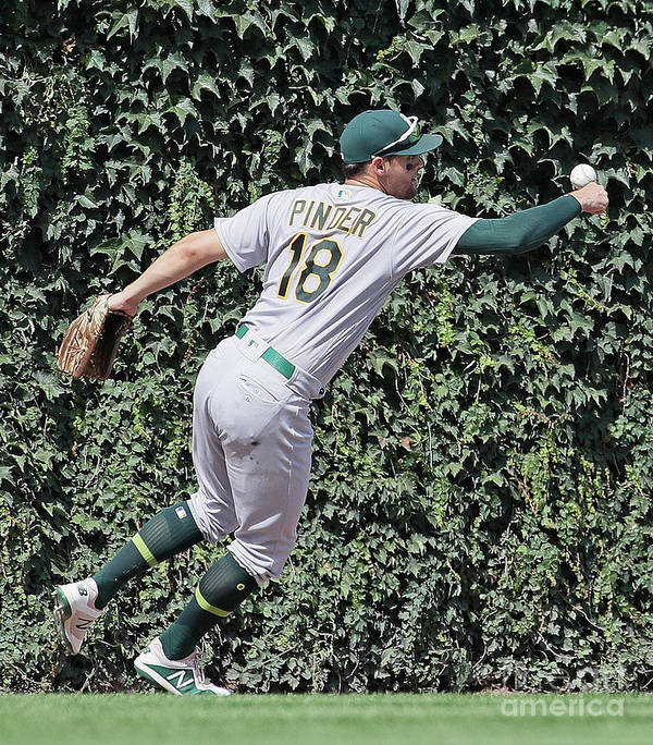 People Art Print featuring the photograph Oakland Athletics V Chicago Cubs 3 by Jonathan Daniel
