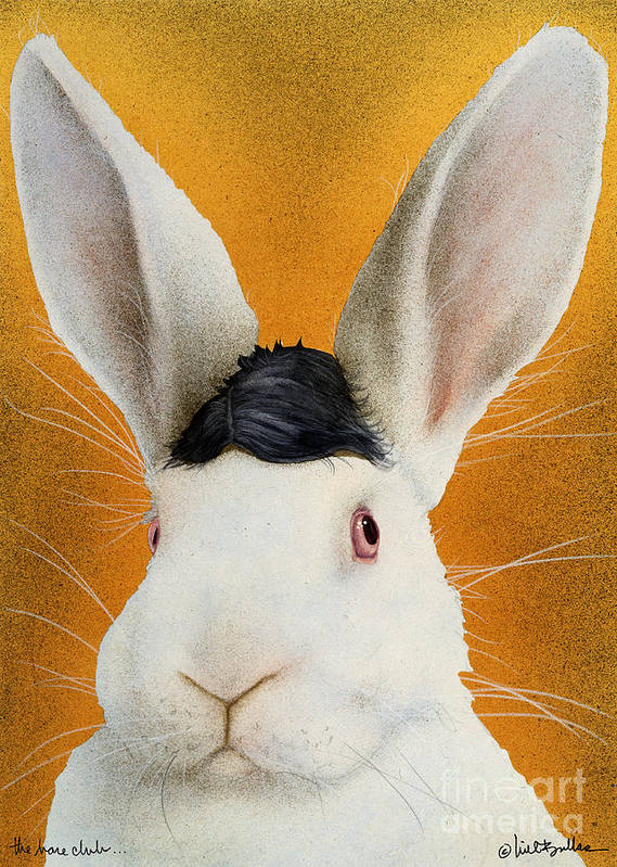 Will Bullas Art Print featuring the painting The Harepiece... by Will Bullas