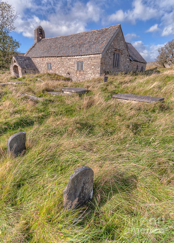 Architecture Art Print featuring the photograph Welsh Tombs by Adrian Evans