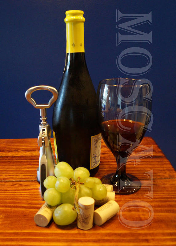 Moscato Art Print featuring the photograph Moscato by Chauncy Holmes