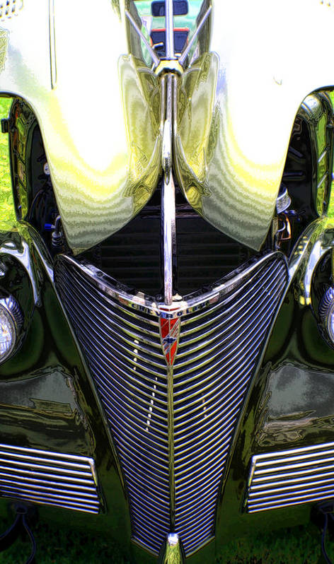 Car Art Print featuring the photograph My Old Chevy by Greg Sharpe