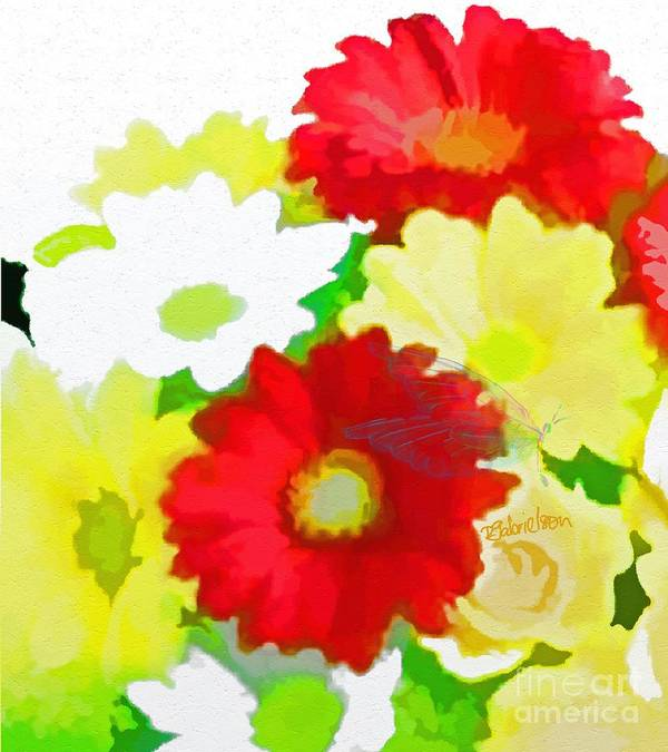 Floral Art Print featuring the digital art Transformation by Peggy Gabrielson