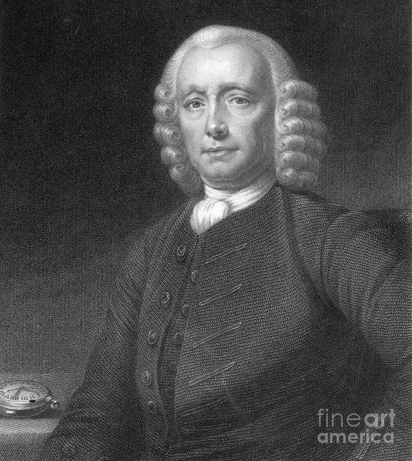 History Art Print featuring the photograph John Harrison, English Inventor by Photo Researchers