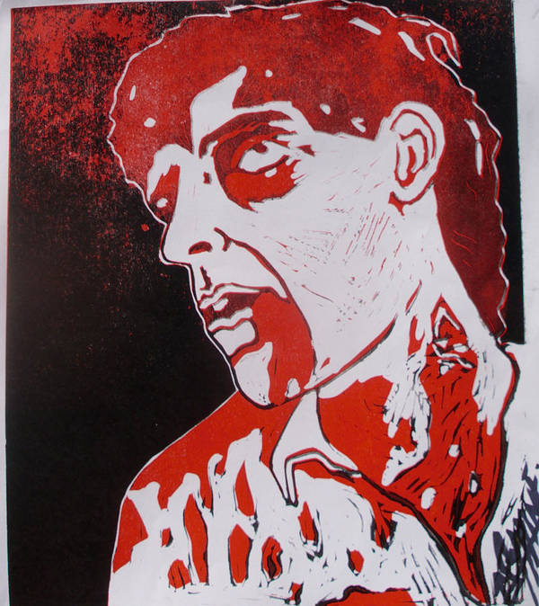 Dawn Of The Dead Print featuring the painting Dawn Of The Dead Print 1 by Sam Hane