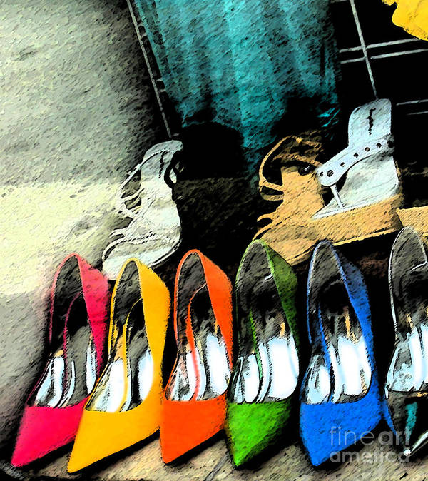 Shoes Art Print featuring the photograph Shoes by Gary Everson