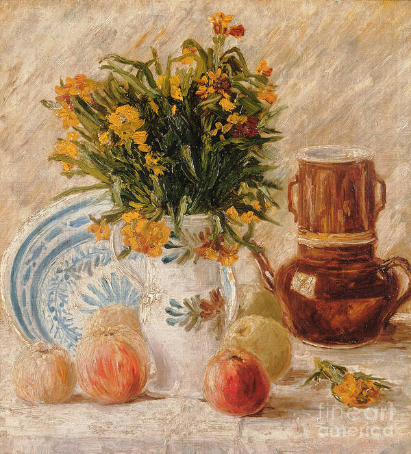 1887 Art Print featuring the painting Still Life by Vincent van Gogh