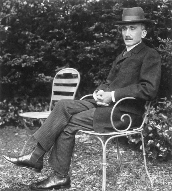 1905 Art Print featuring the photograph Henri Bergson (1859-1941) by Granger