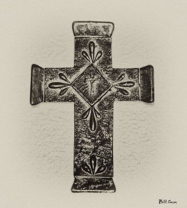 Cross Art Print featuring the photograph The Cross by Bill Cannon